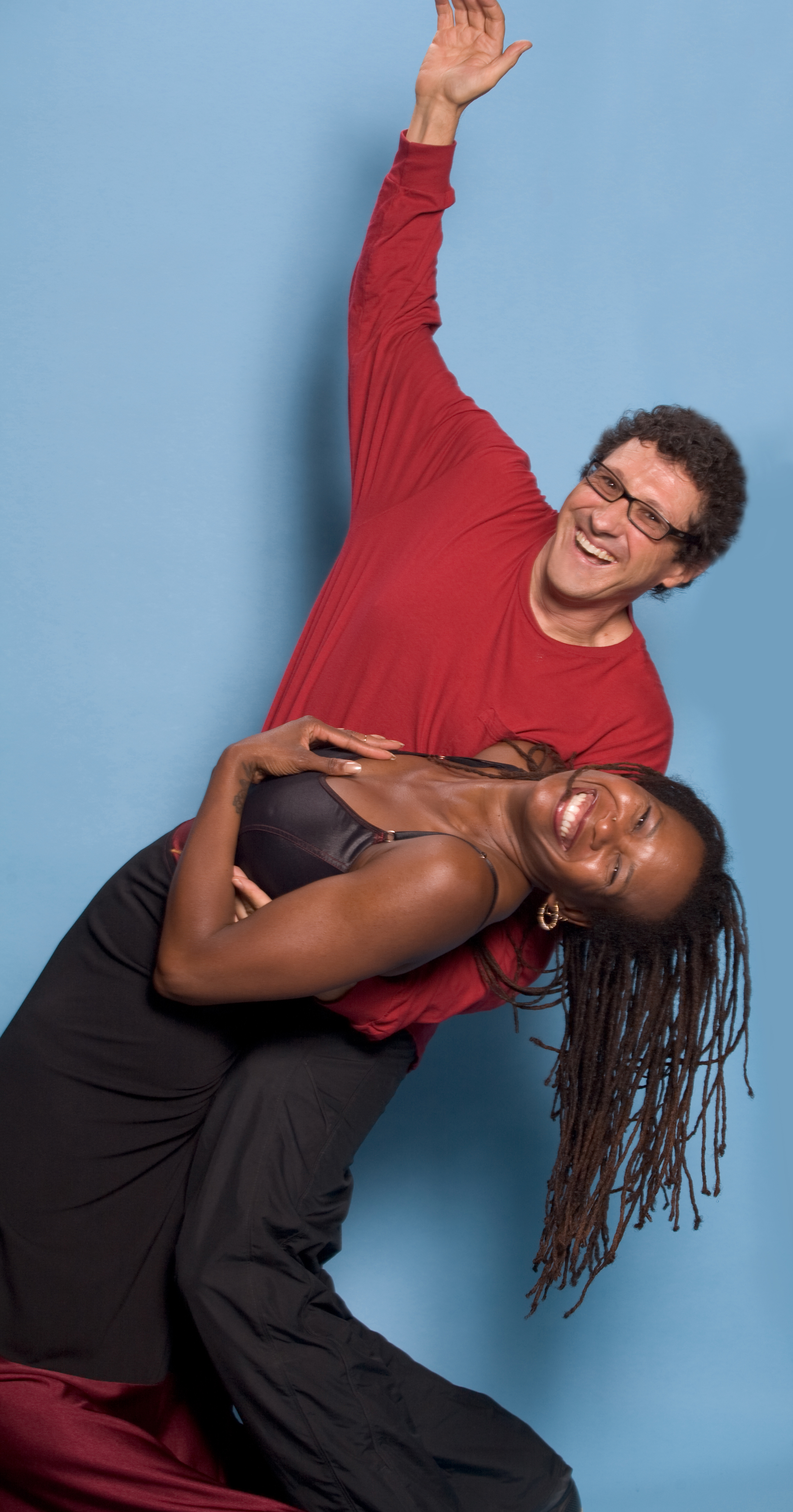 Paul Antico, dance photo/video/filmmaker with choreographer Winifred R Harris