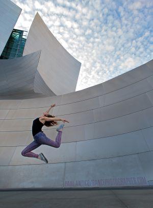 Dancer Sarah Marquelle Kruger