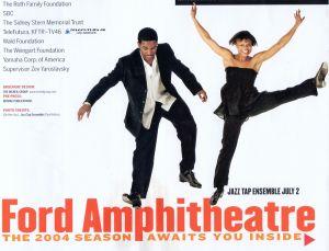 Ford Amphitheatre Program